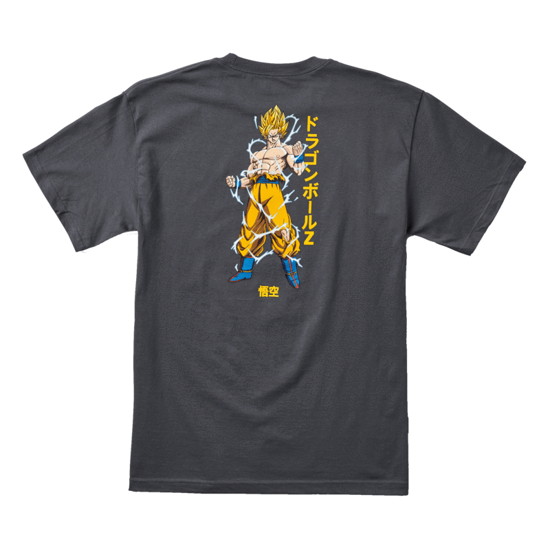 【PRIMITIVE X DRAGON BALL Z】SUPER SAIYAN GOKU T-SHIRT chacol