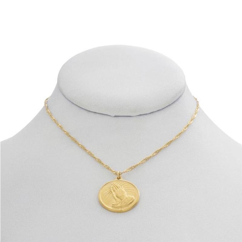 【VIDAKUSH】Simple Prayer Coin Necklace