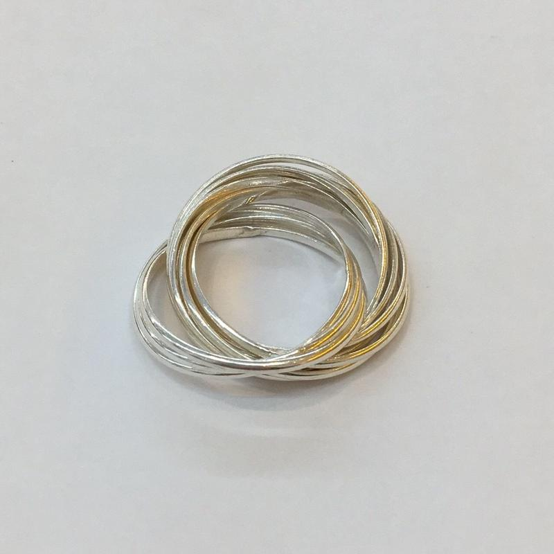 【Phismade】925 thinround ring