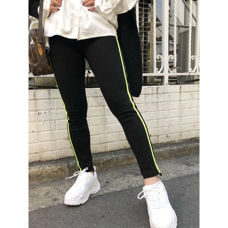 NEON COLOR LINE LEGGINGS