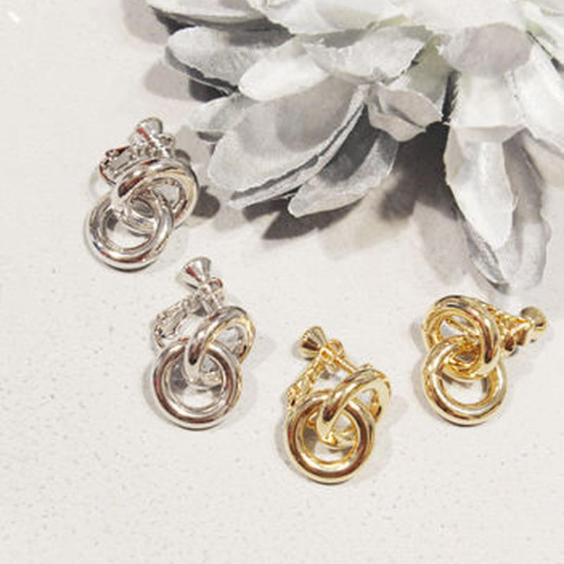 2RING MINI EARRING