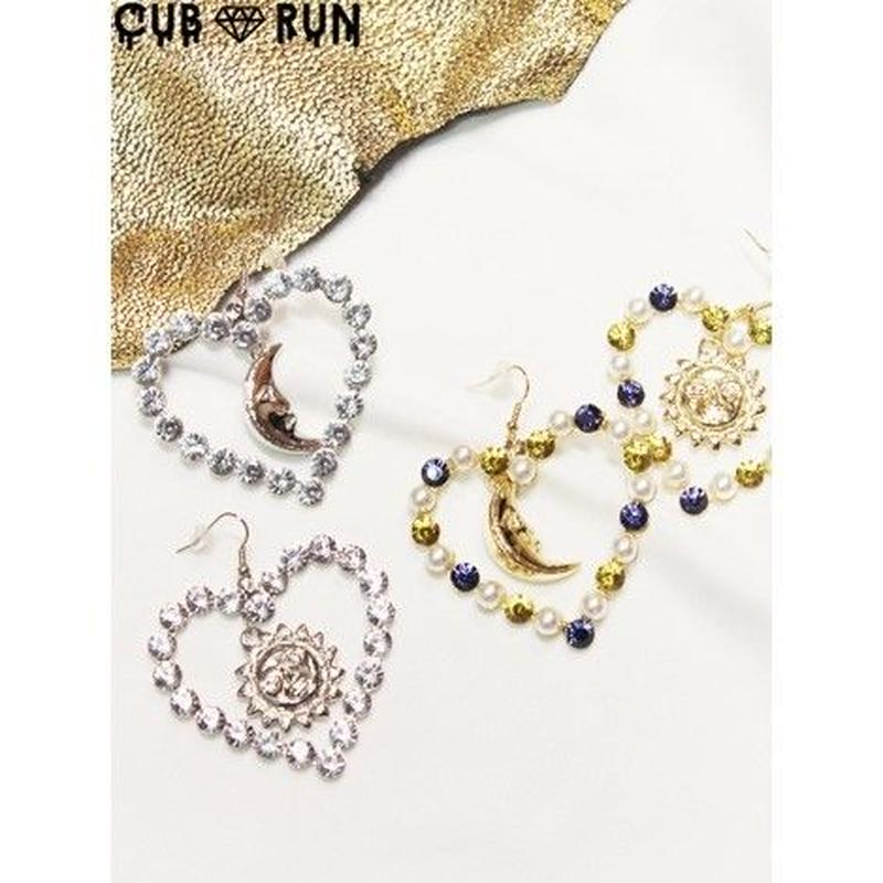 【CUBRUN】SUN&MOON HEART PIAS