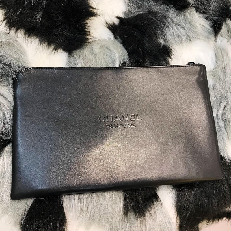 【CHANEL】NOVERTY POUCH - BLACK -