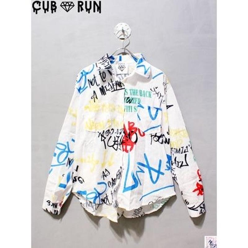 【CUBRUN】COLOR GRAFFITI SHIRTS