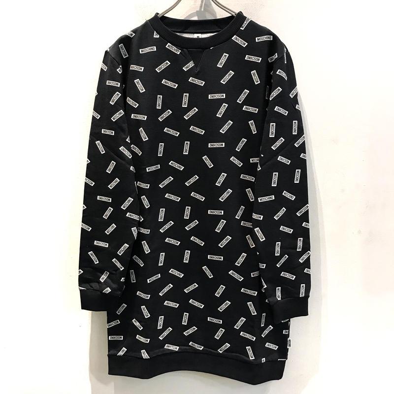 【MOSCHINO】PRINT DRESS