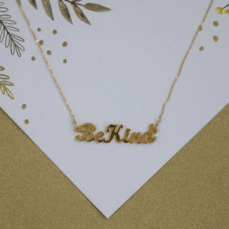 【VIDAKUSH】Be Kind Necklace