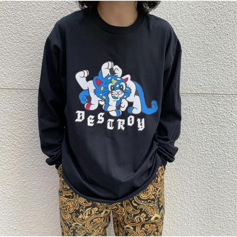 【Psycho Works】DESTROY LS/TEE