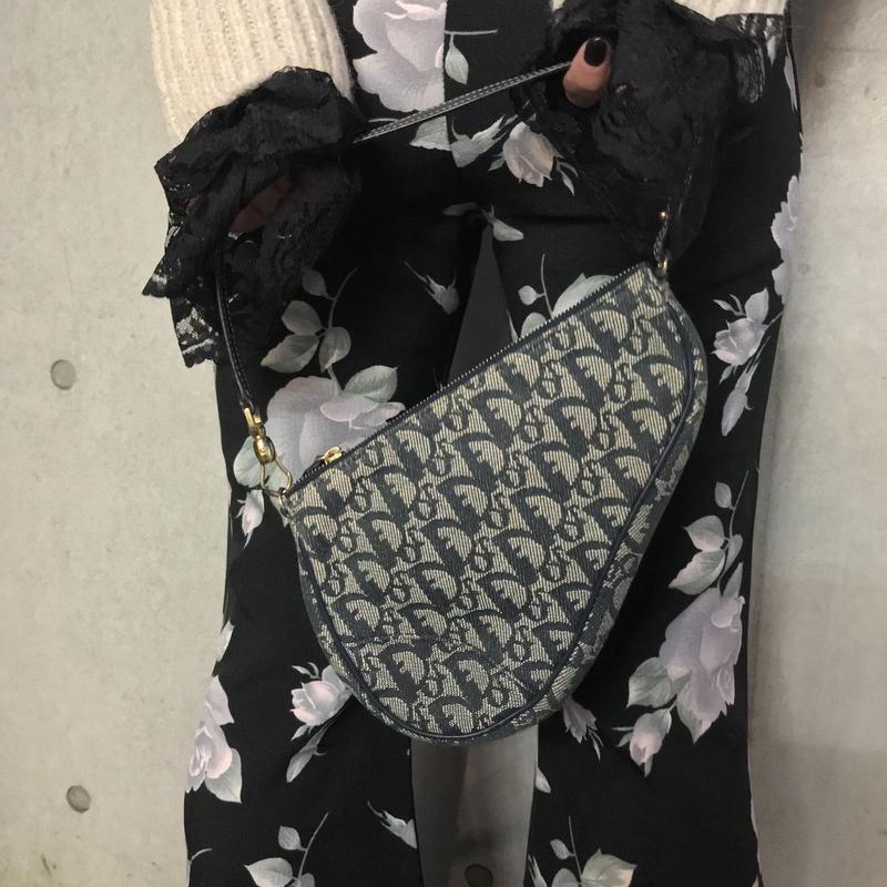 【Vintage Dior】Trotter Saddle Hand