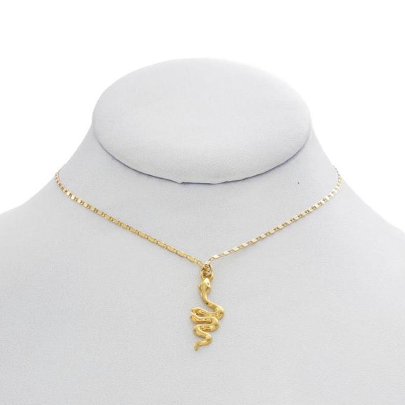 【VIDAKUSH】Snake On a Chain Necklace