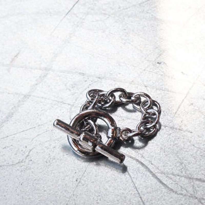 SILVER RING MANTEL CHAIN