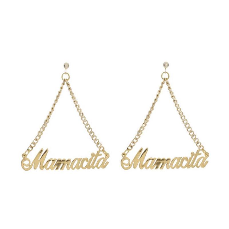 【VIDAKUSH】Mamacita Namepla Earrings