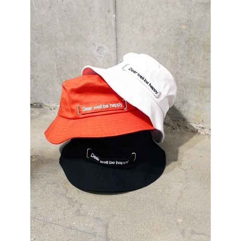 LOGO TAPE BUCKET HAT
