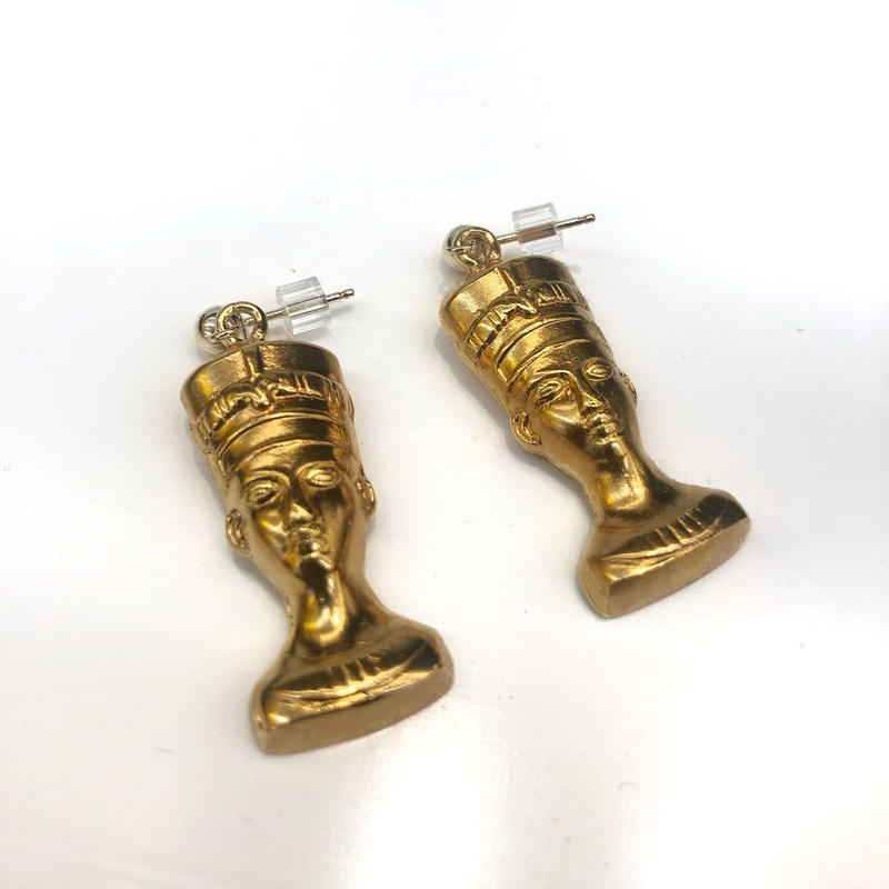 【VIDAKUSH】Nefertiti Stud Earrings