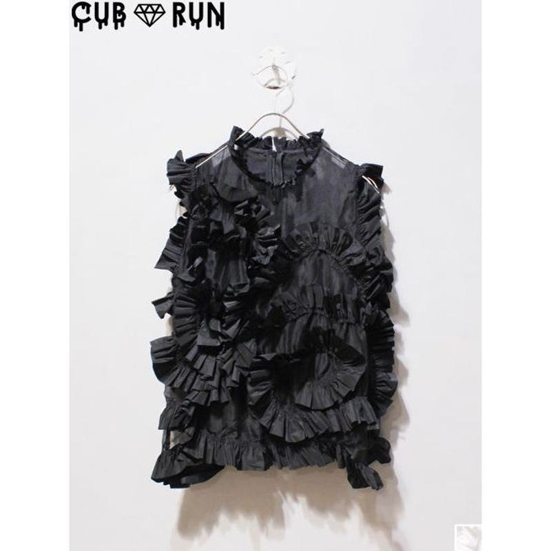 【CUBRUN】FRILL  TOPS