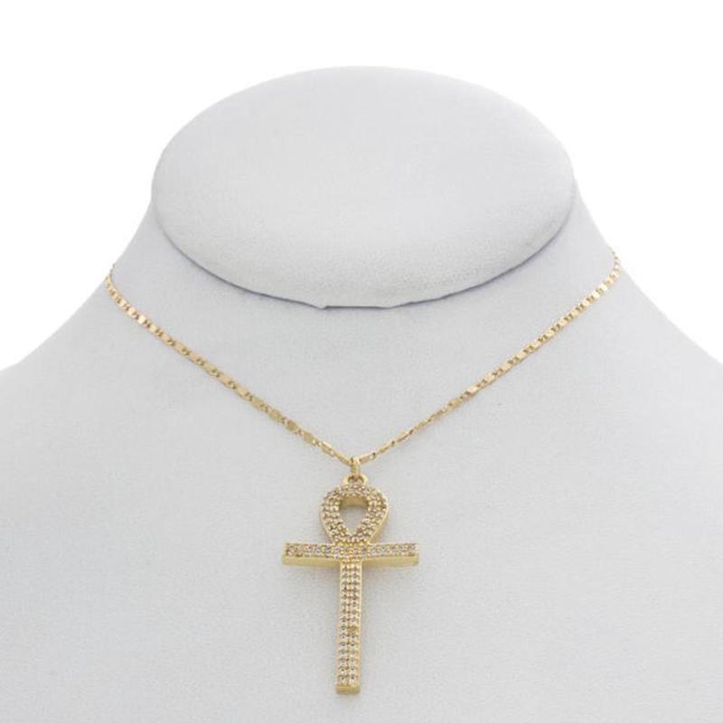 【VIDAKUSH】Shining Ankh Necklace