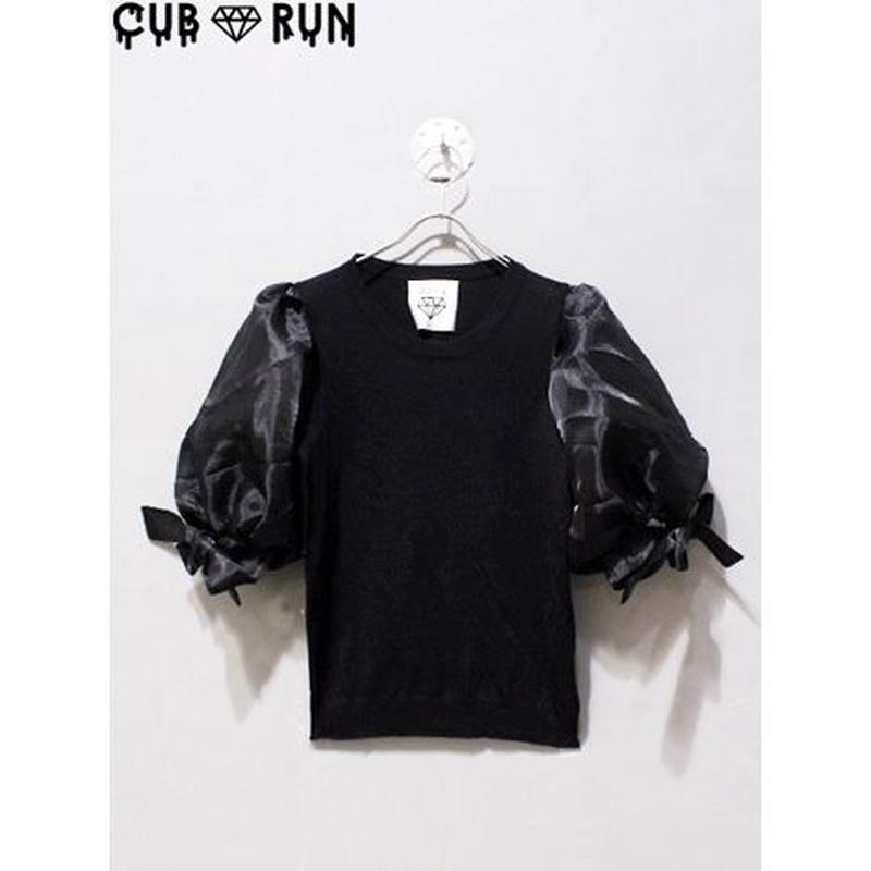 【CUBRUN】BIG PUFF-SLEEVE TEE