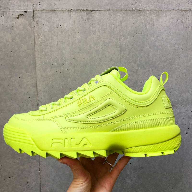 【FILA】DISRUPTOR Ⅱ- LIME GREEN