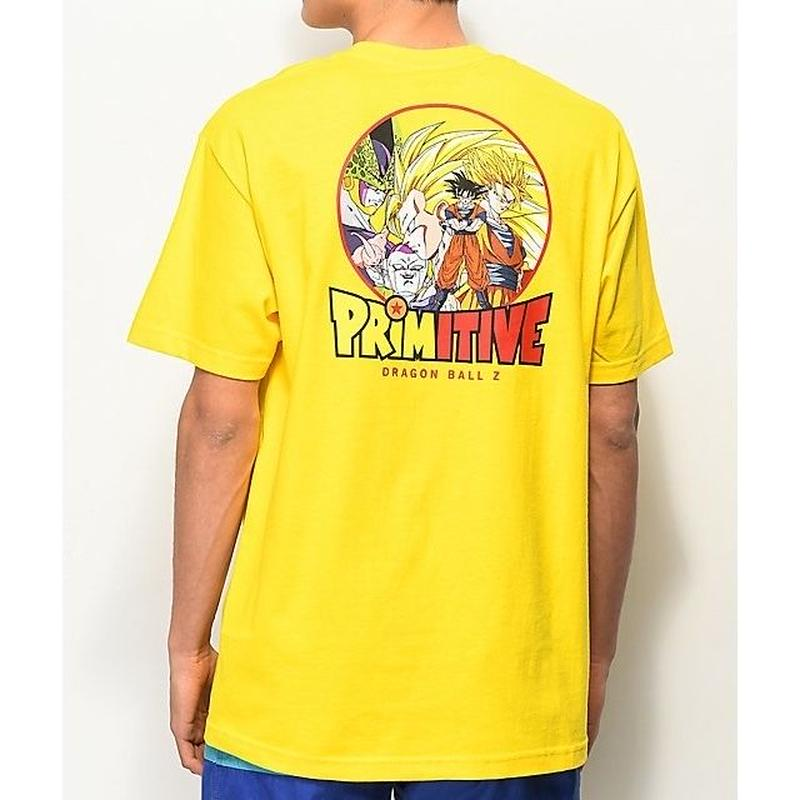 【PRIMITIVE X DRAGON BALL Z】TEE yellow