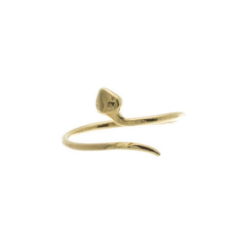 【VIDAKUSH】Thin Snake Knuckle Ring