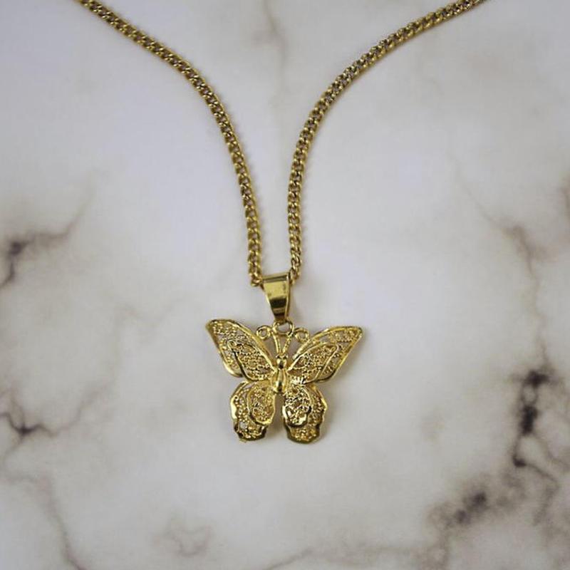 【VIDAKUSH】Butterfly Necklace