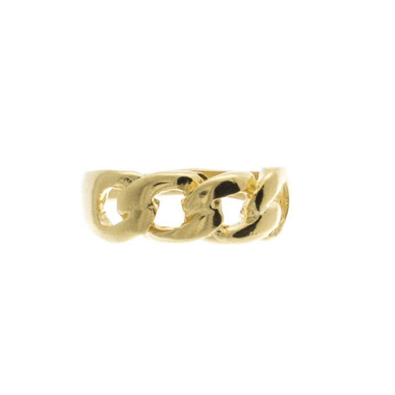 【VIDAKUSH】Chain Link Knuckle Ring