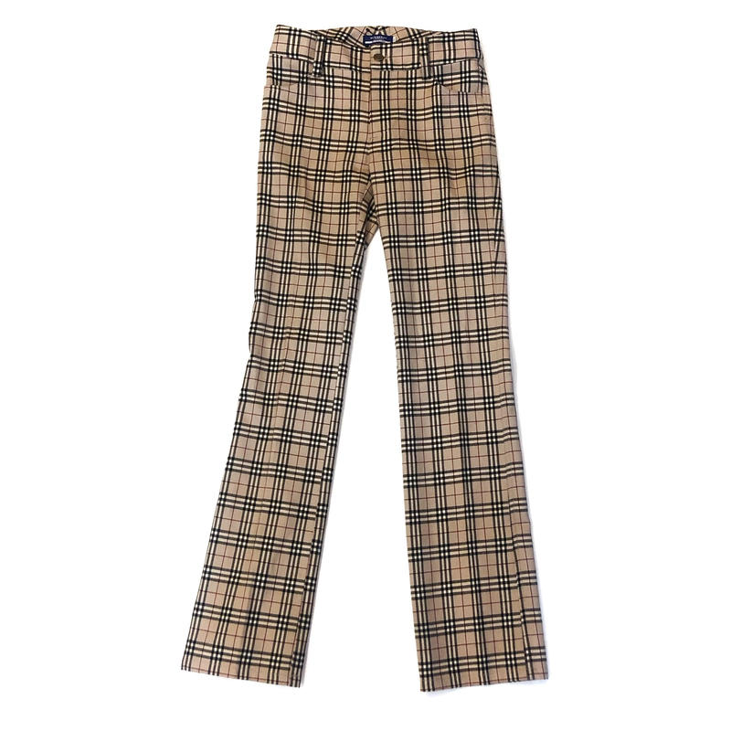 【Vintage BURBERRY】CHECK PANTS (BRA-12772275)
