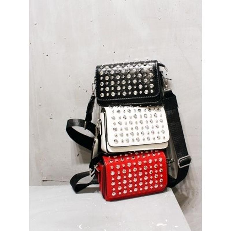 STUDS MINI SHOULDER BAG