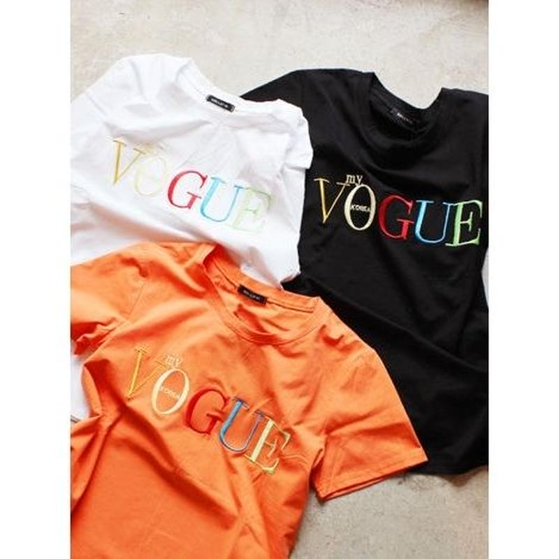 COLORFUL VOGUE TEE