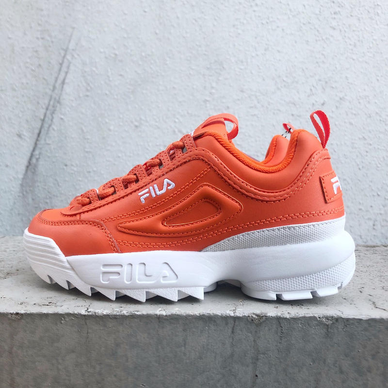 【FILA】DISRUPTOR Ⅱ-  ORANGE