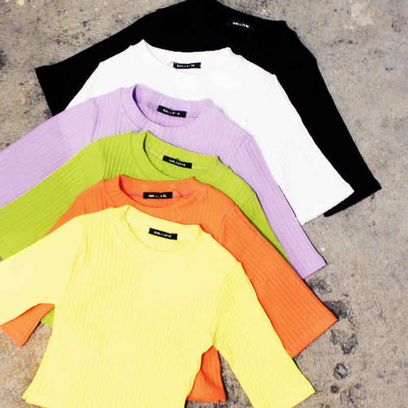 SHORT SLEEVE LIB TOPS