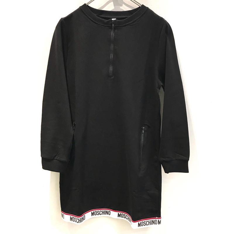 【MOSCHINO】 PRINT ZIP DRESS