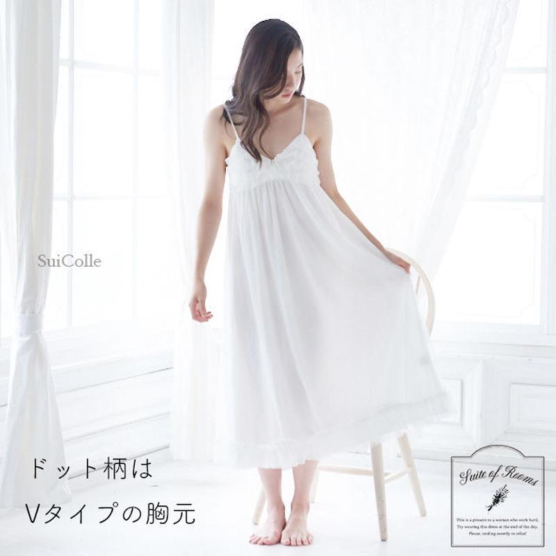 【ドットorハートチュールキャミワンピース】P91399-532 / P91529-532