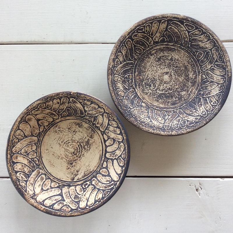 ポリネシア5寸皿