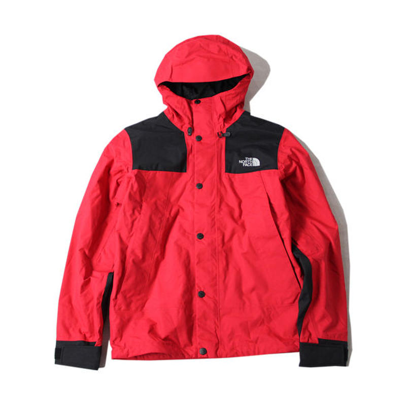 THE NORTH FACE MOUNTAIN JACKET red/black