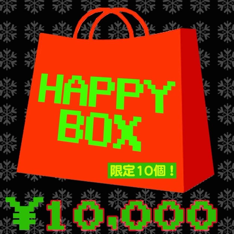 限定5個!2019 HAPPY BOX  (B)