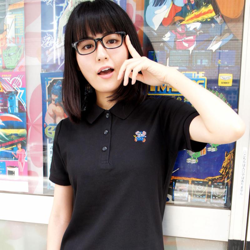 マッピー ポロワンピース (Black)  〜MAPPY  Polo DressShirt〜
