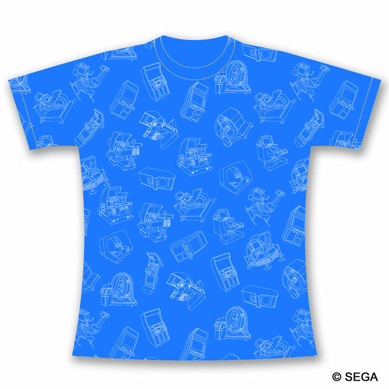 SEGA Arcade Gamer Tシャツ  -BLUE-