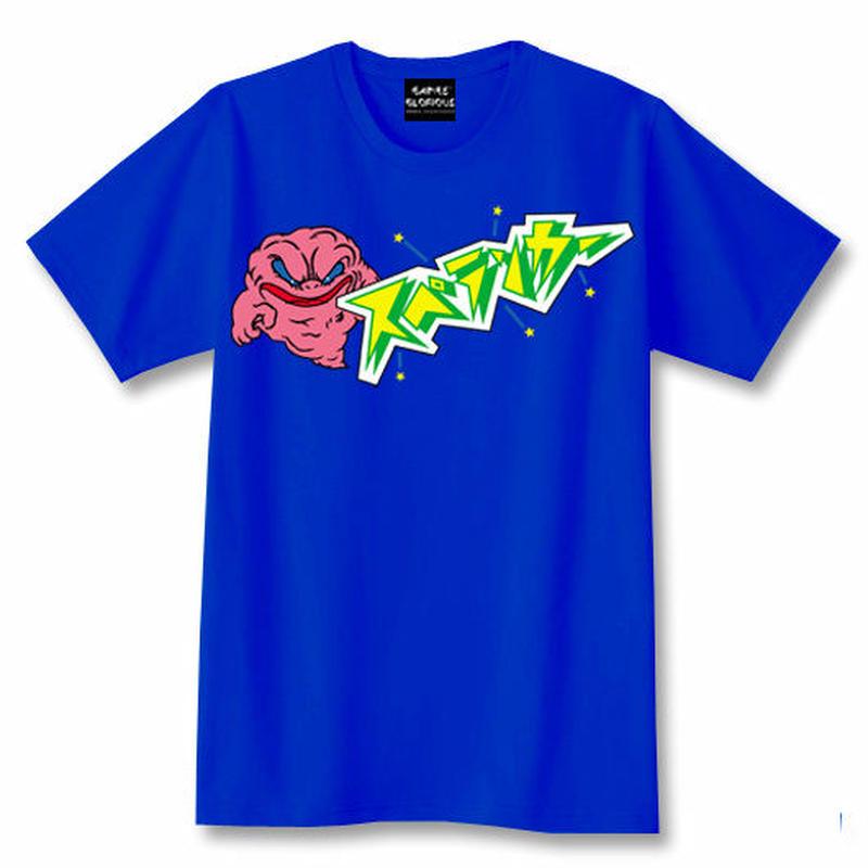 スペランカー GHOST  Tシャツ(ロイヤルブルー)