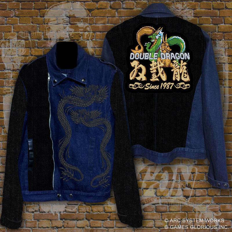 ダブルドラゴン-双截龍- ライダースジャケット