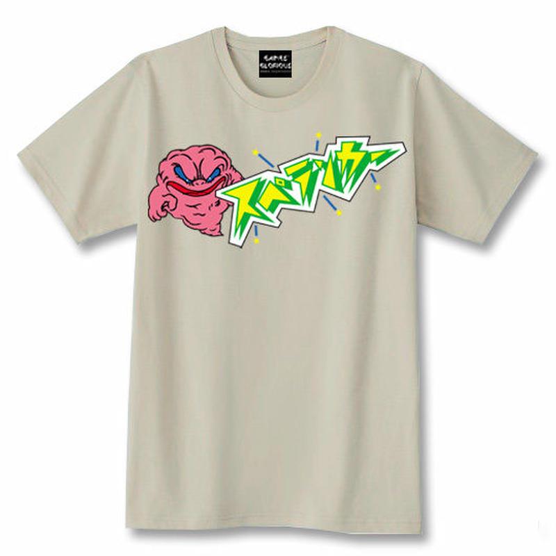 スペランカー GHOST  Tシャツ(シルバーグレー)