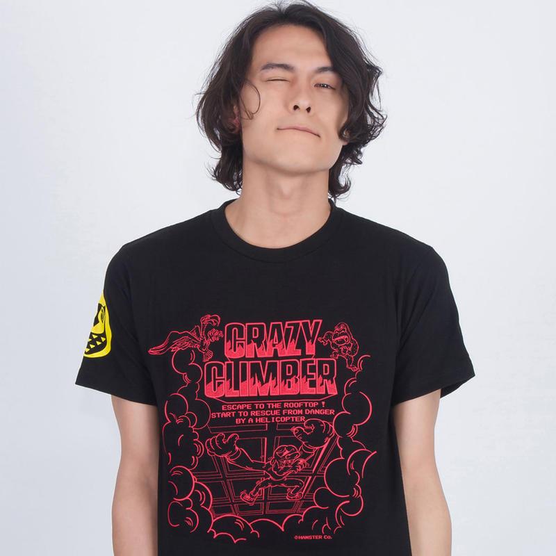 クレイジークライマー 〜 Climbing Up Tee〜 (Black)