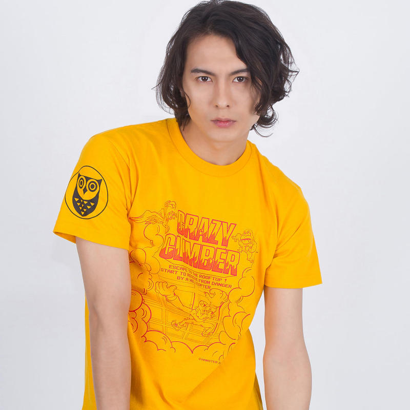 CRAZY CLIMBER  -Climbing Up Tee- (YELLOW)