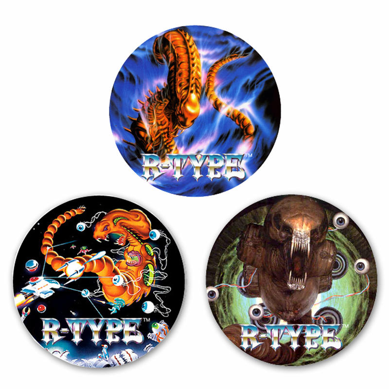 【R-TYPE 】Button Badge  (3-piece set)