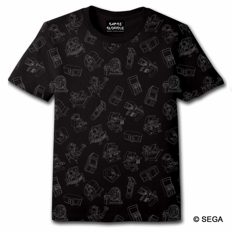 SEGA Arcade Gamer Tee -Black-
