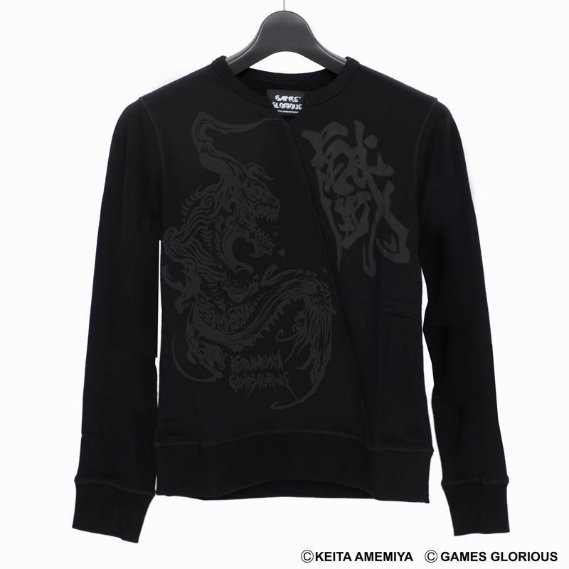 【KEITAAMEMIYA x GAMESGLORIOUS】K.A. Sweater 〜MARYUU〜