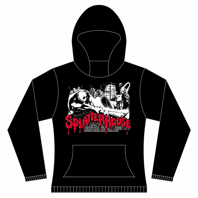 【 SPLATTER HOUSE 】Arcade  Hooded Sweatshirt