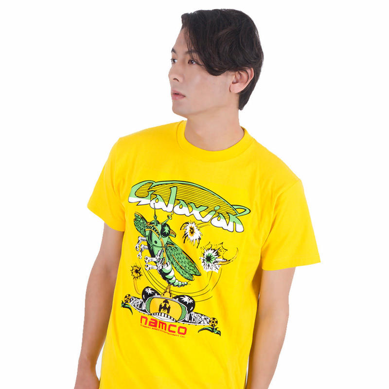 GALAXIAN Arcade Art Tee  (Yellow)