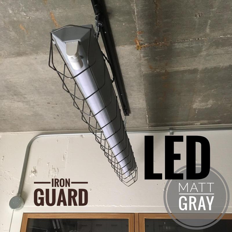 【GR-1LG03】 1灯 LEDライト ツヤ消しグレー ダクトレール用