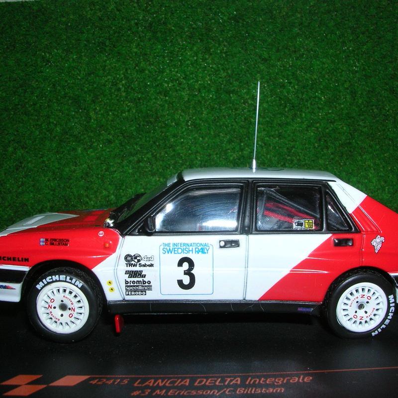 ビテス ランチア デルタ HF インテグラーレ (#3) スウェディッシュ ラリー  1989