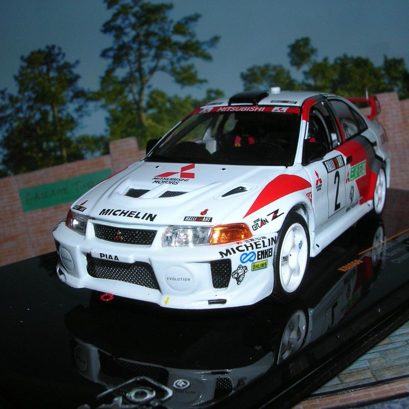 イクソ モデル 三菱 ランサー EVO Ⅴ(#02)Champion's Meeting 1998年